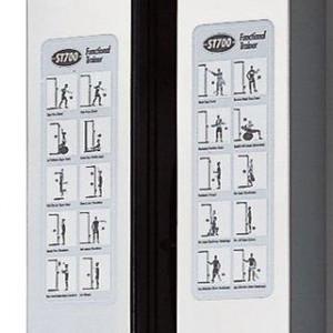 Tabla de ejercicios multigimnasio Vision ST700 Functional Trainer